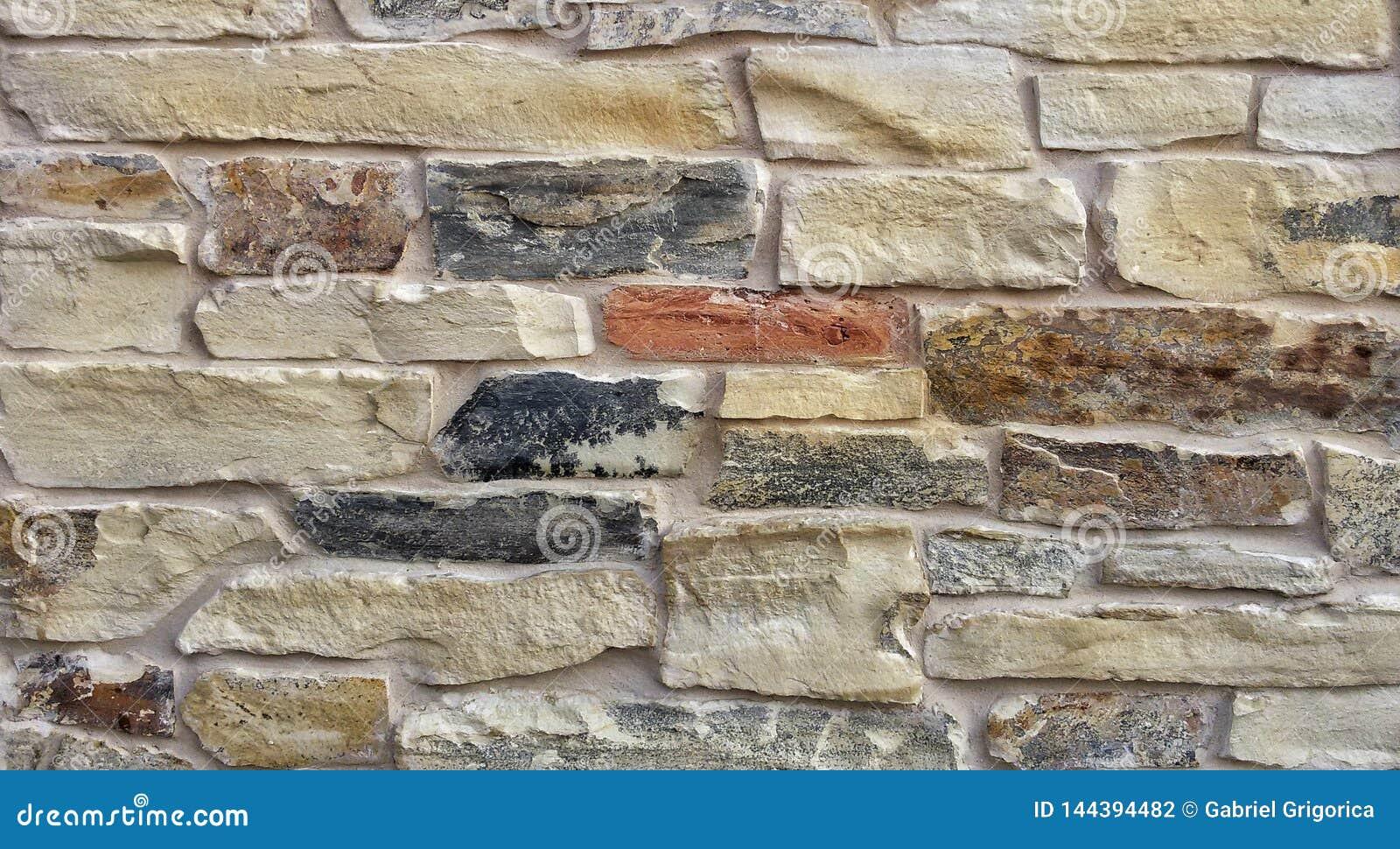Dekoracyjny wieśniaka kamień używać w budowie