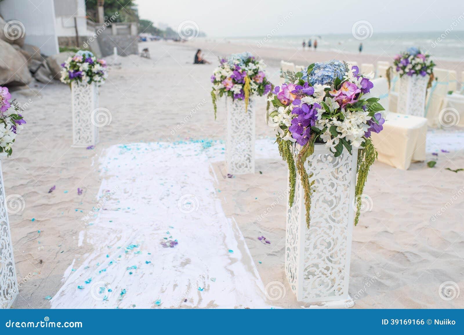 Dekoration Von Hochzeitsblumen Stockfoto Bild Von Bundel Leafs