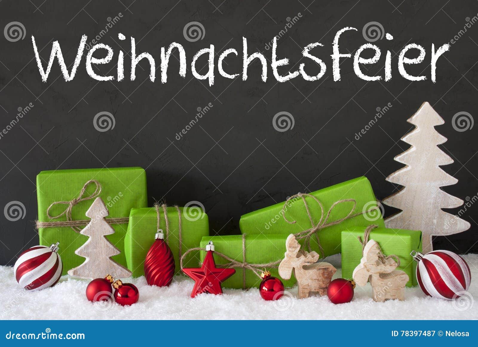 Dekoration, Zement, Schnee, Weihnachtsfeier Bedeutet Weihnachtsfest ...