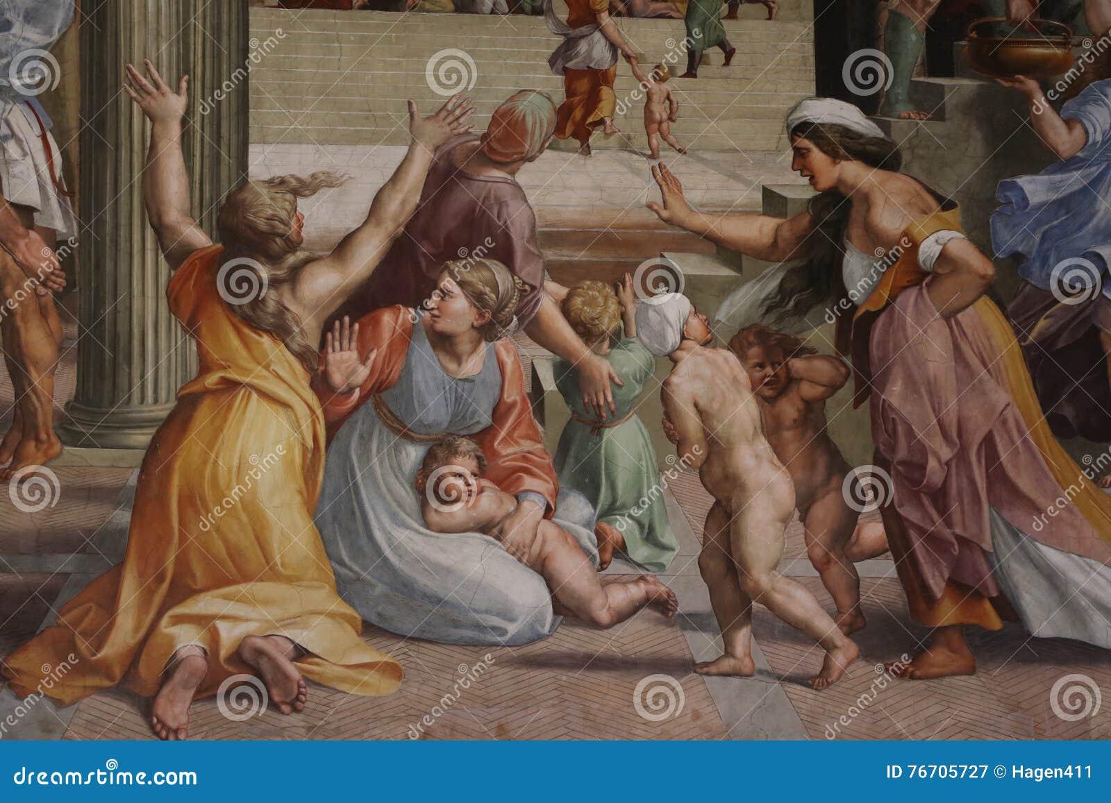 Dekorativ målning i Rome
