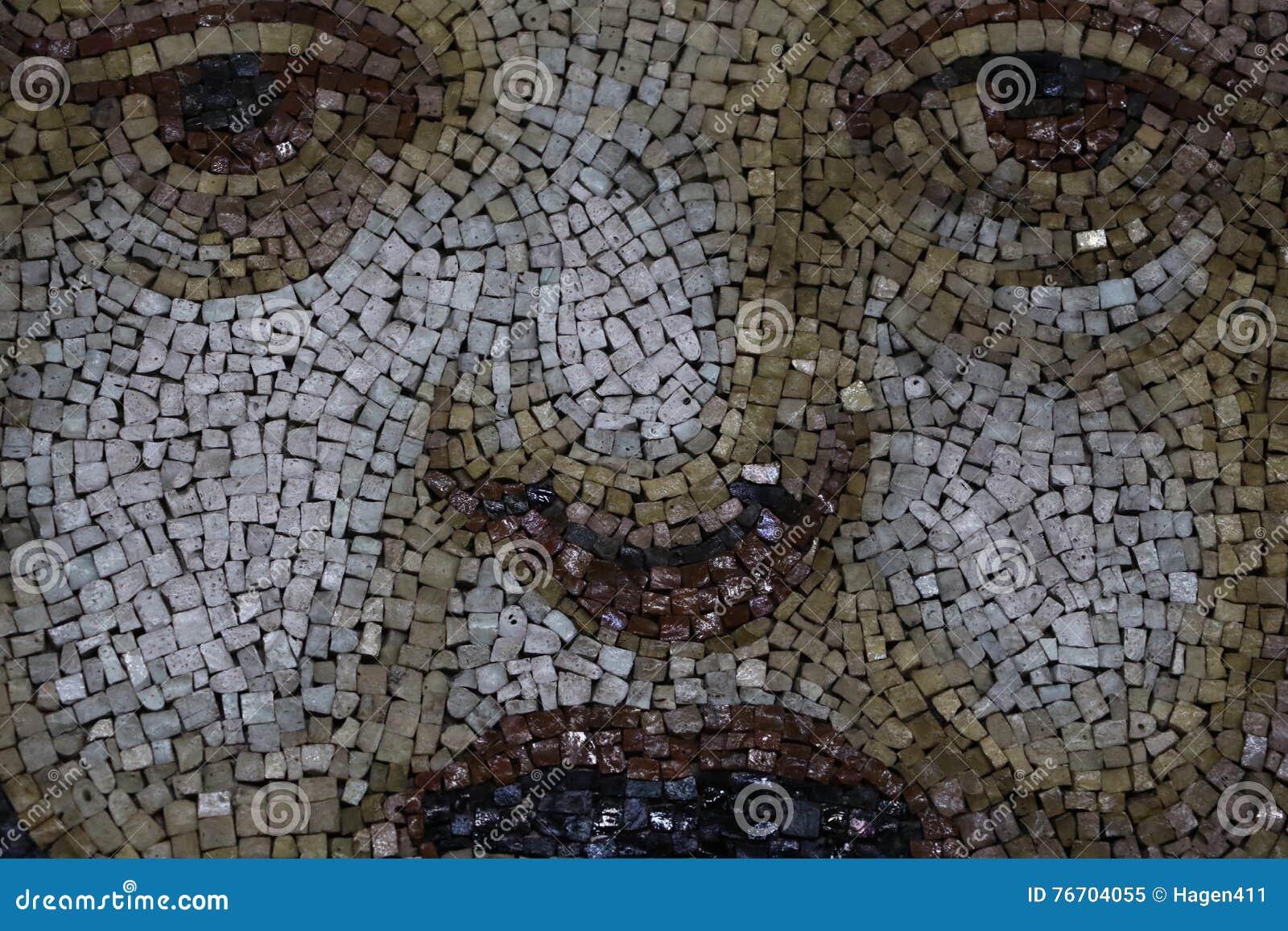 Dekorativ mosaik