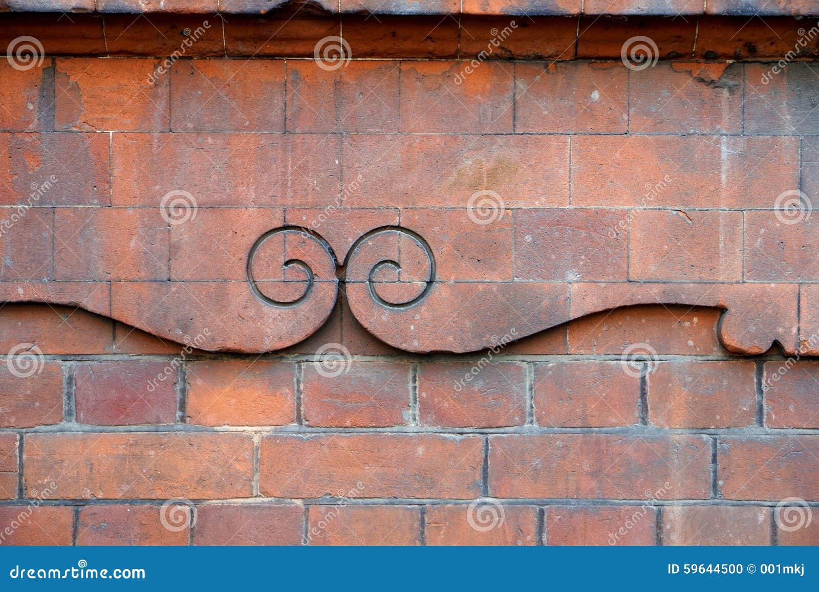 Dekorativa krumelurer i murverk