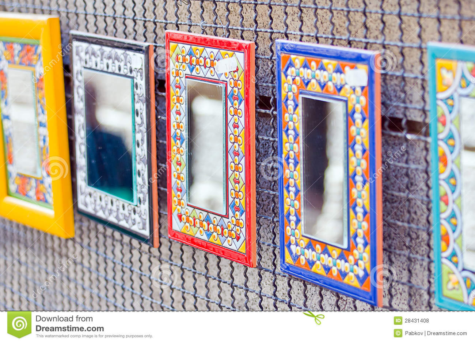 Dekorative Spiegel Stockfoto Bild Von Kunst Antike 28431408
