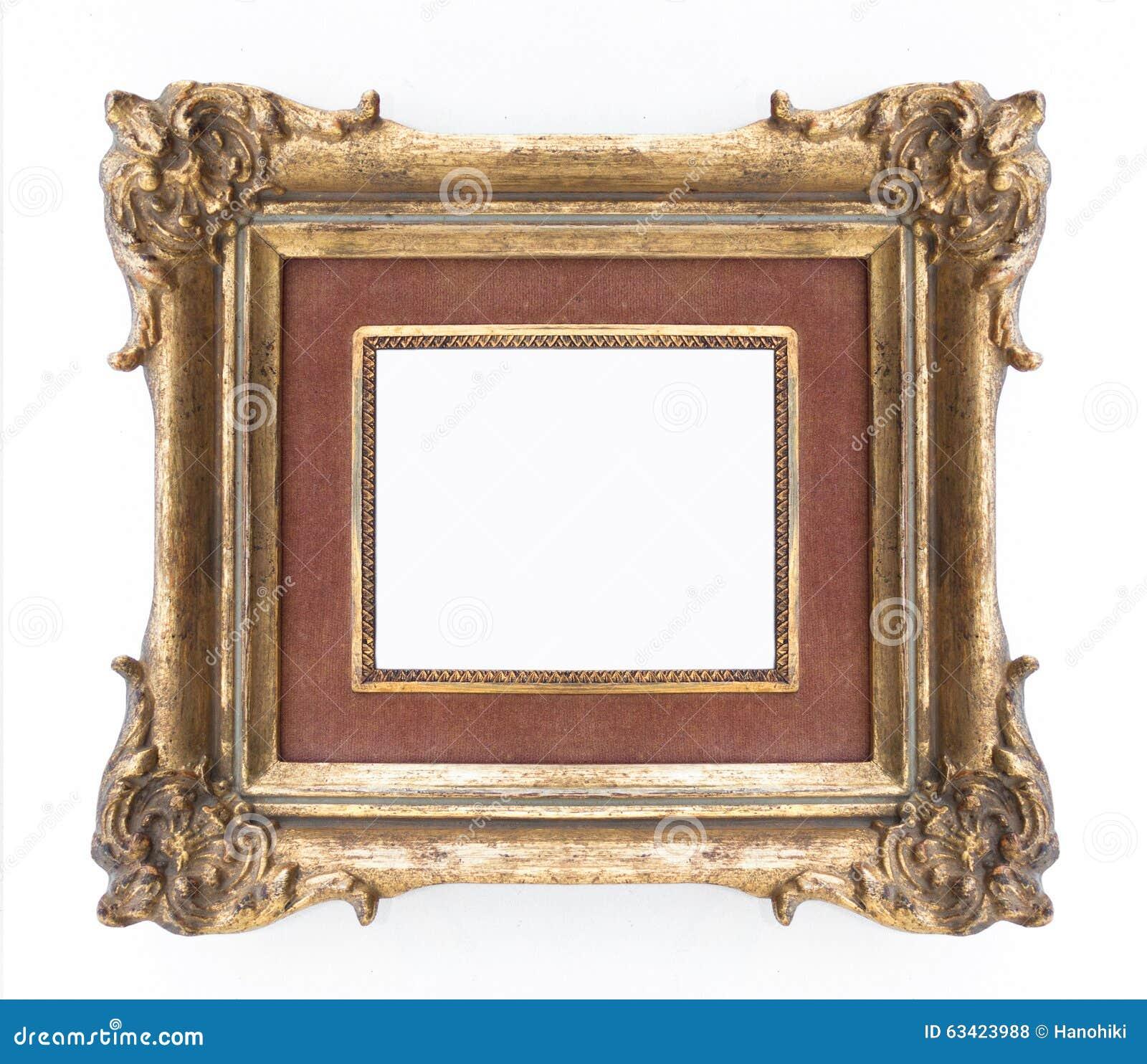 Dekorativer Goldener Rahmen - Aufwändiger Rahmen, Klassisch ...