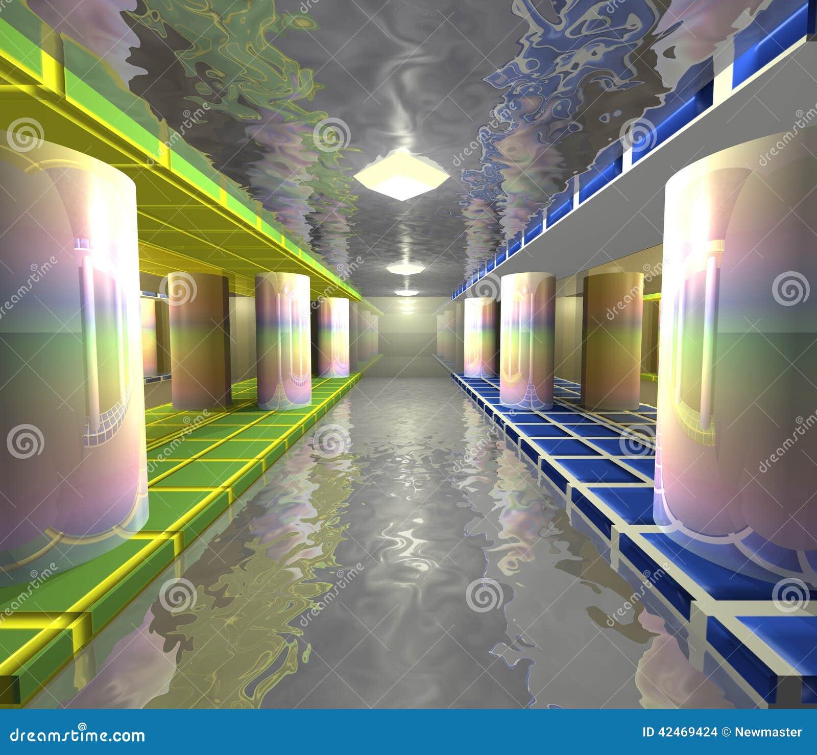 Dekorativer Swimmingpool