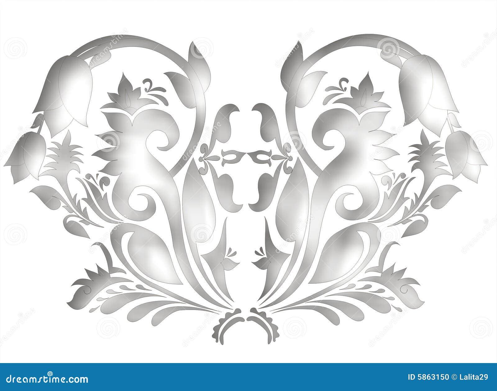Dekoratives Motiv