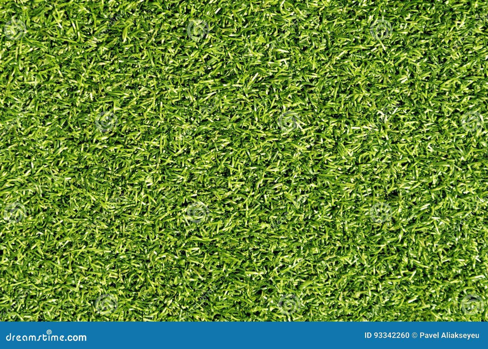 Dekorativt gräslån för grön färg för sport och fritid