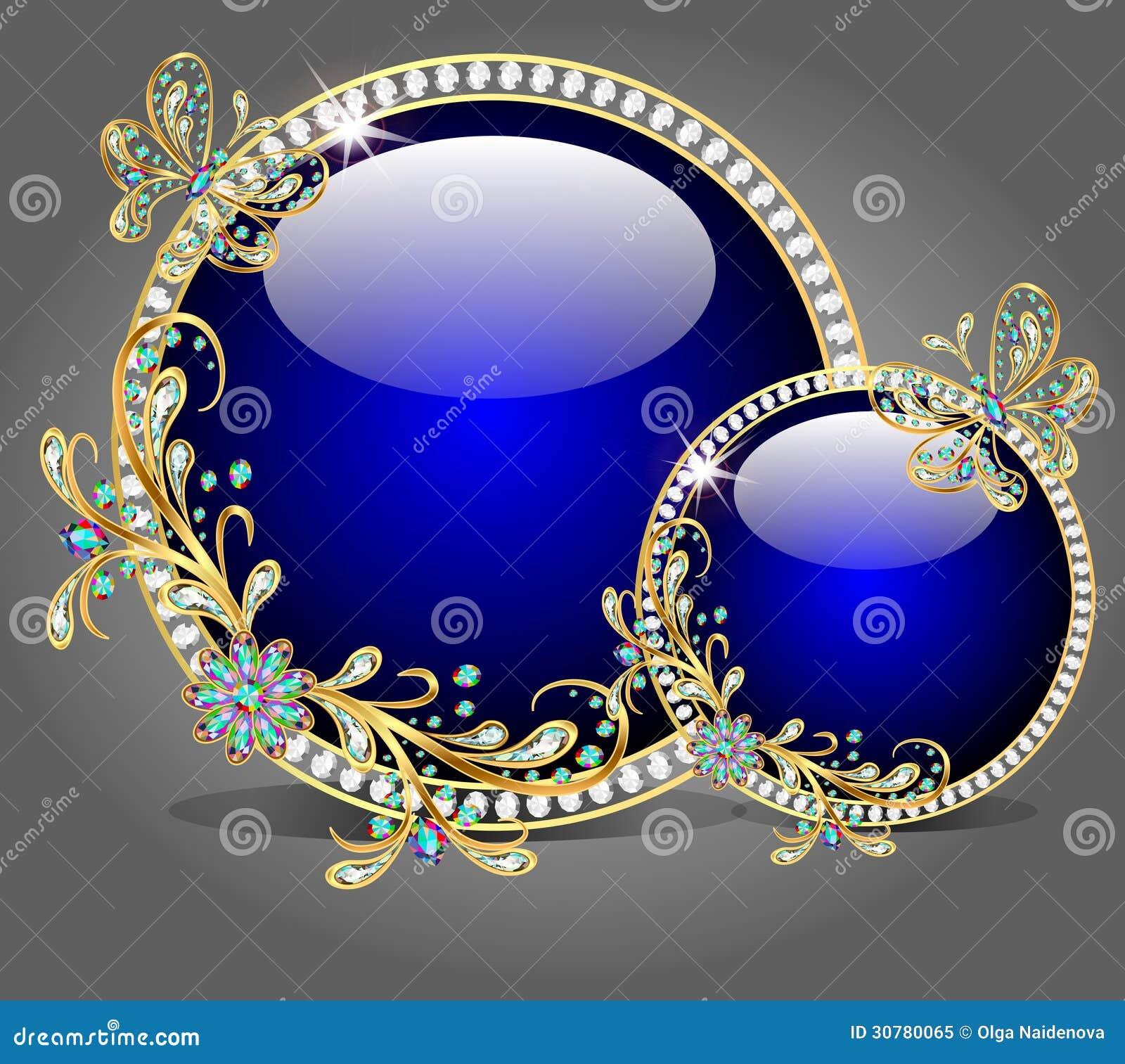Del bol de vidrio dos con las mariposas hechas de piedra - Bol de vidrio ...