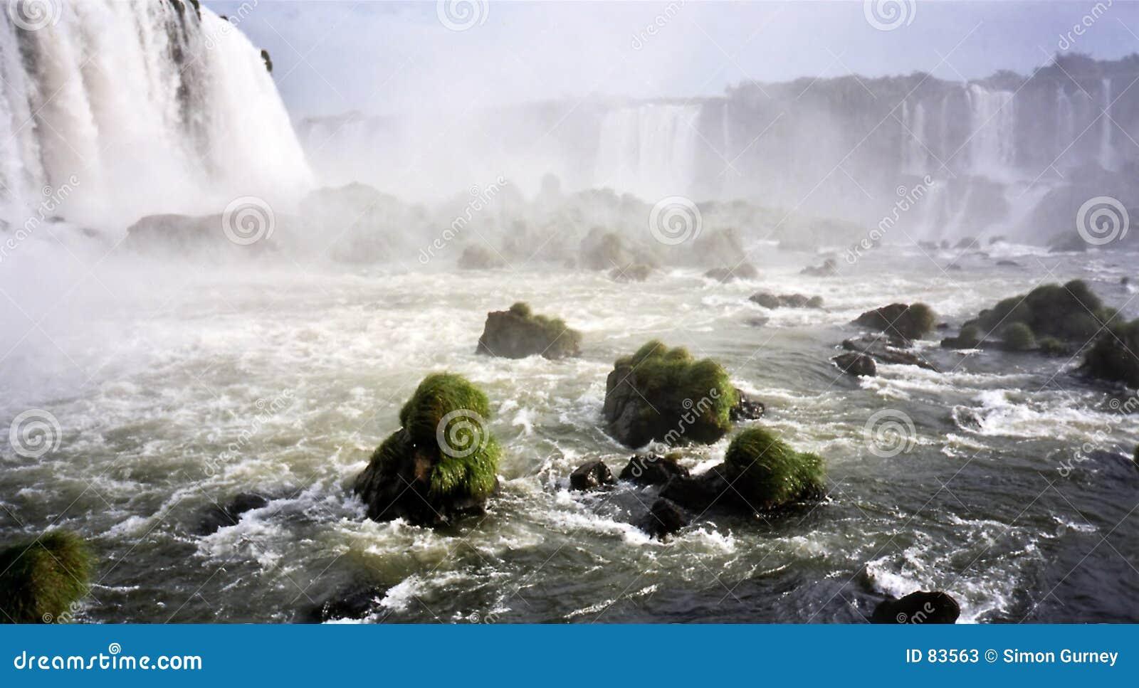 Del Diablo falls Garganta iguazu