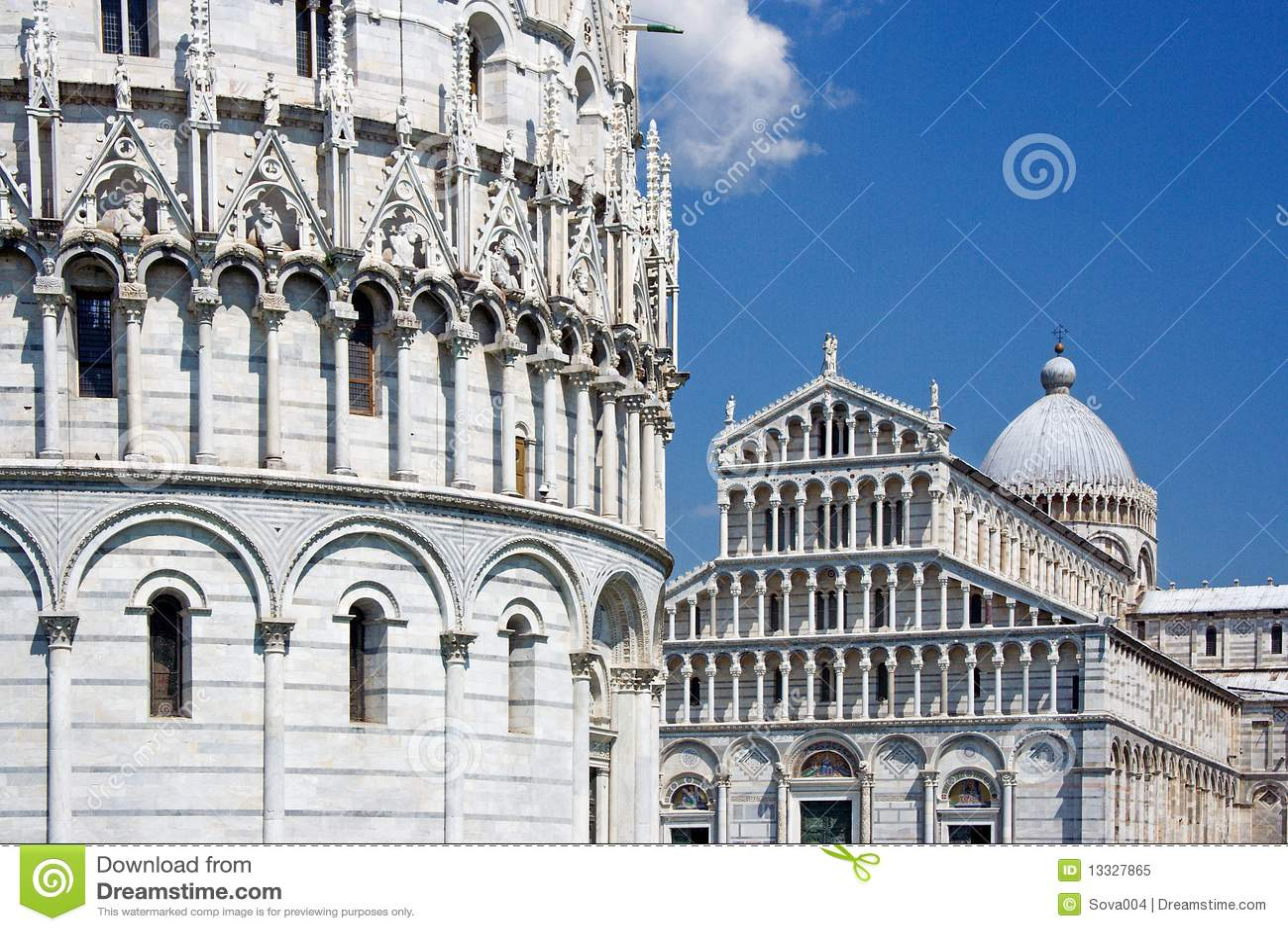 Del Duomo piazza piza