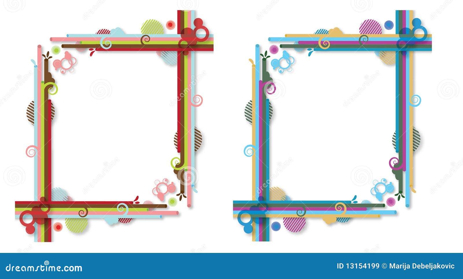 Vistoso Marcos Creativos Composición - Ideas de Arte Enmarcado ...