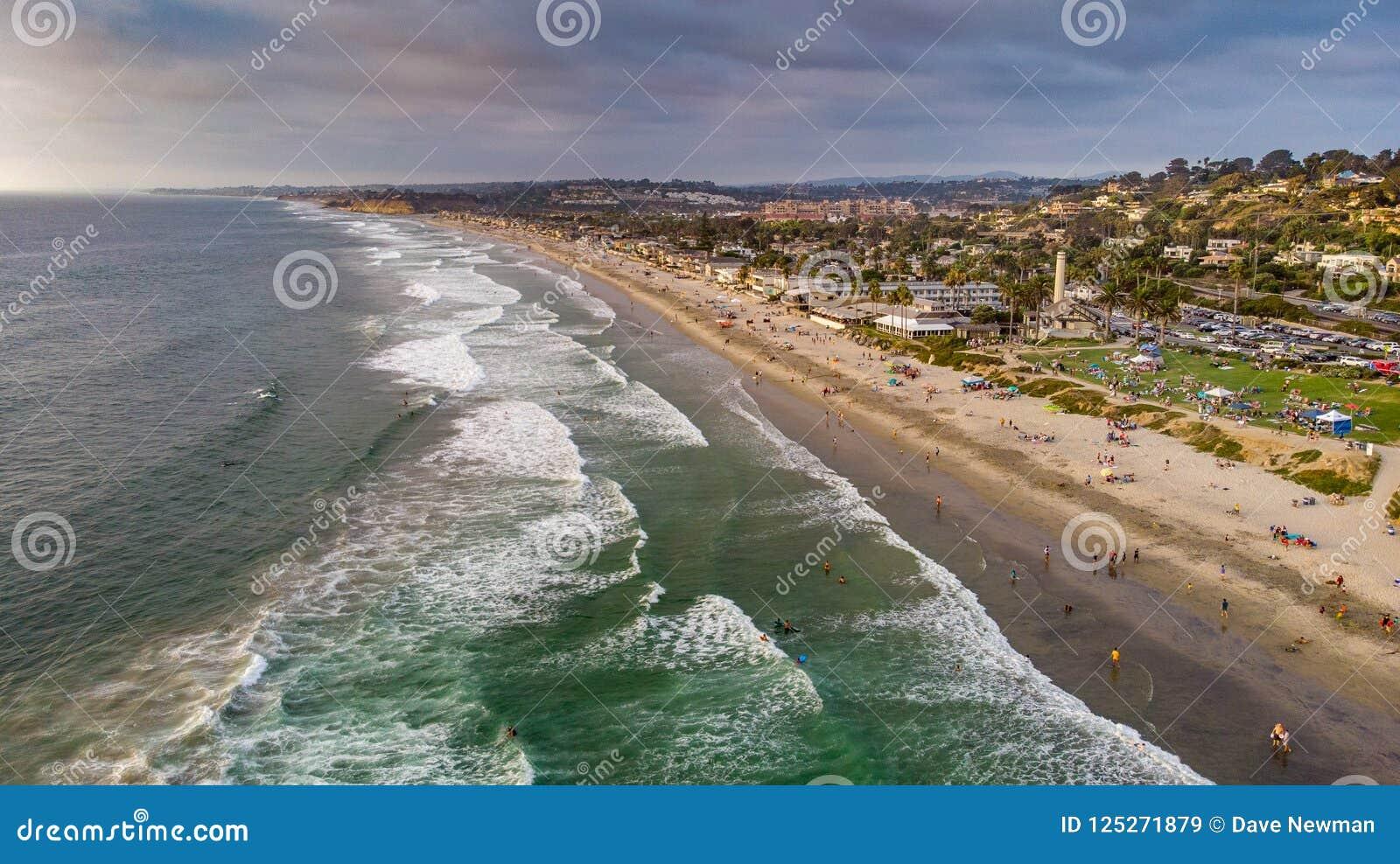 Del Mar, Califórnia de cima de