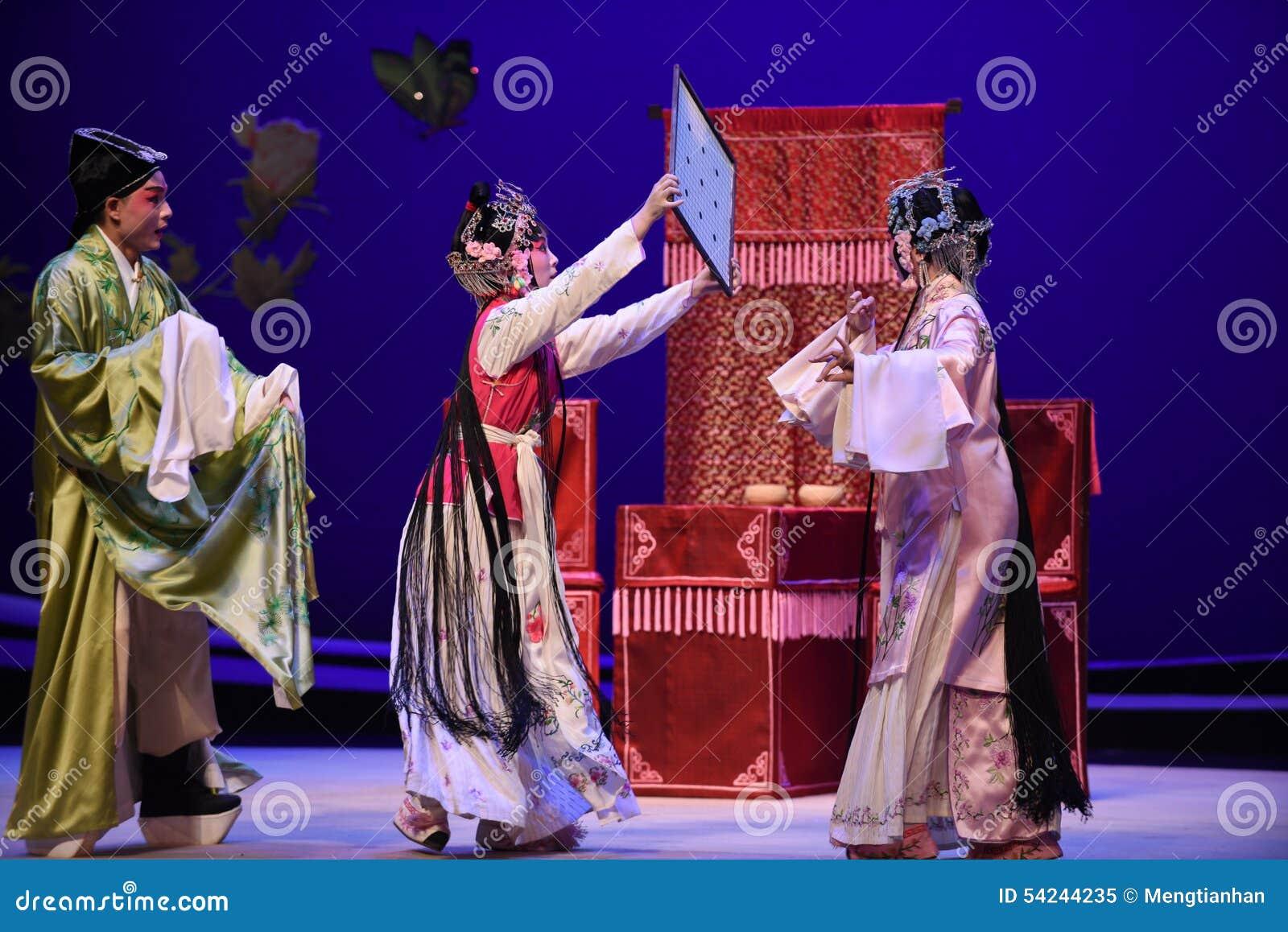 """ del oeste abrigado de Chamber†del """"the de la ópera del secreto-Kunqu"""