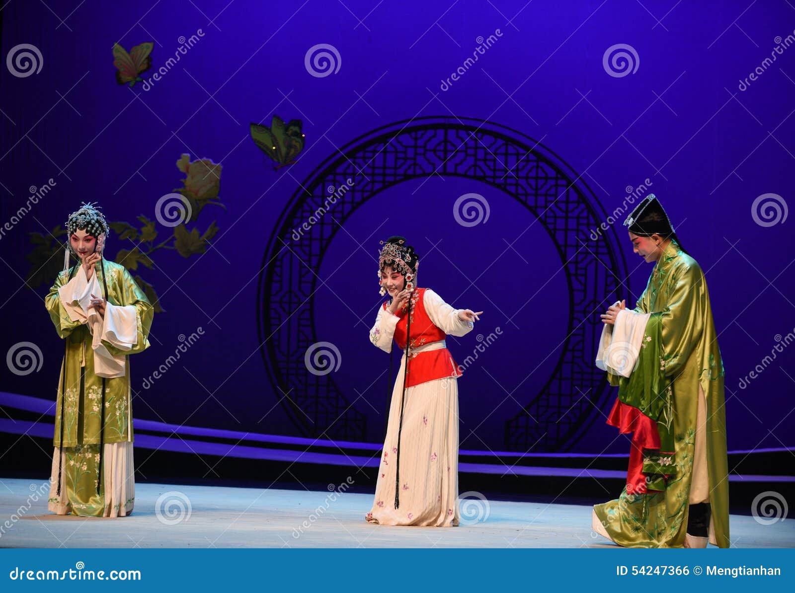 " del oeste de Chamber†del criado-Kunqu del ""the tímido de la ópera"