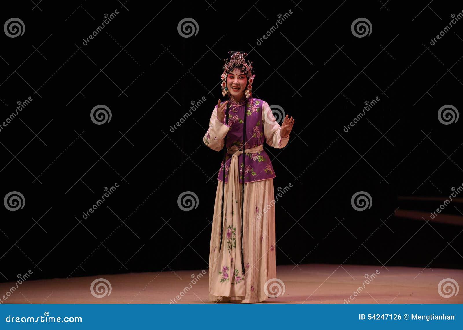 """ del oeste de Chamber†del """"the de Hong Niang-Kunqu Opera"""
