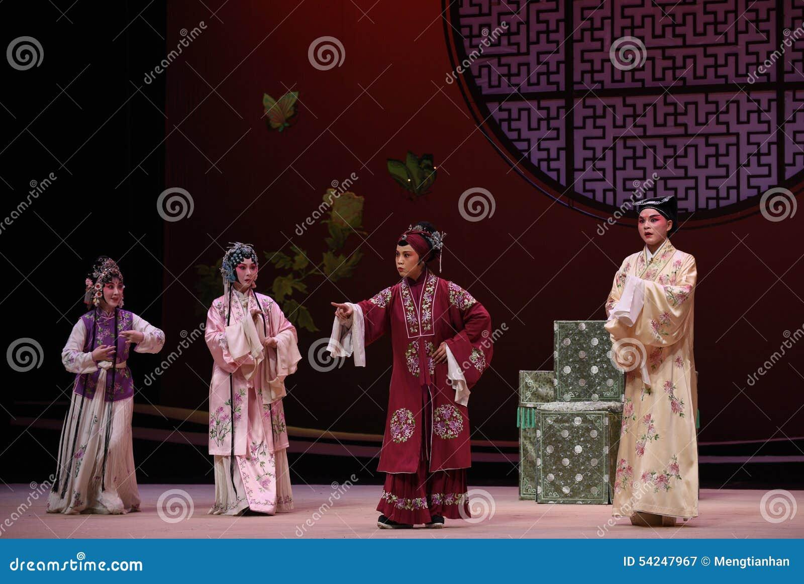 """ del oeste de Chamber†del """"the de la ópera de la decisión-Kunqu de la señora mayor"""