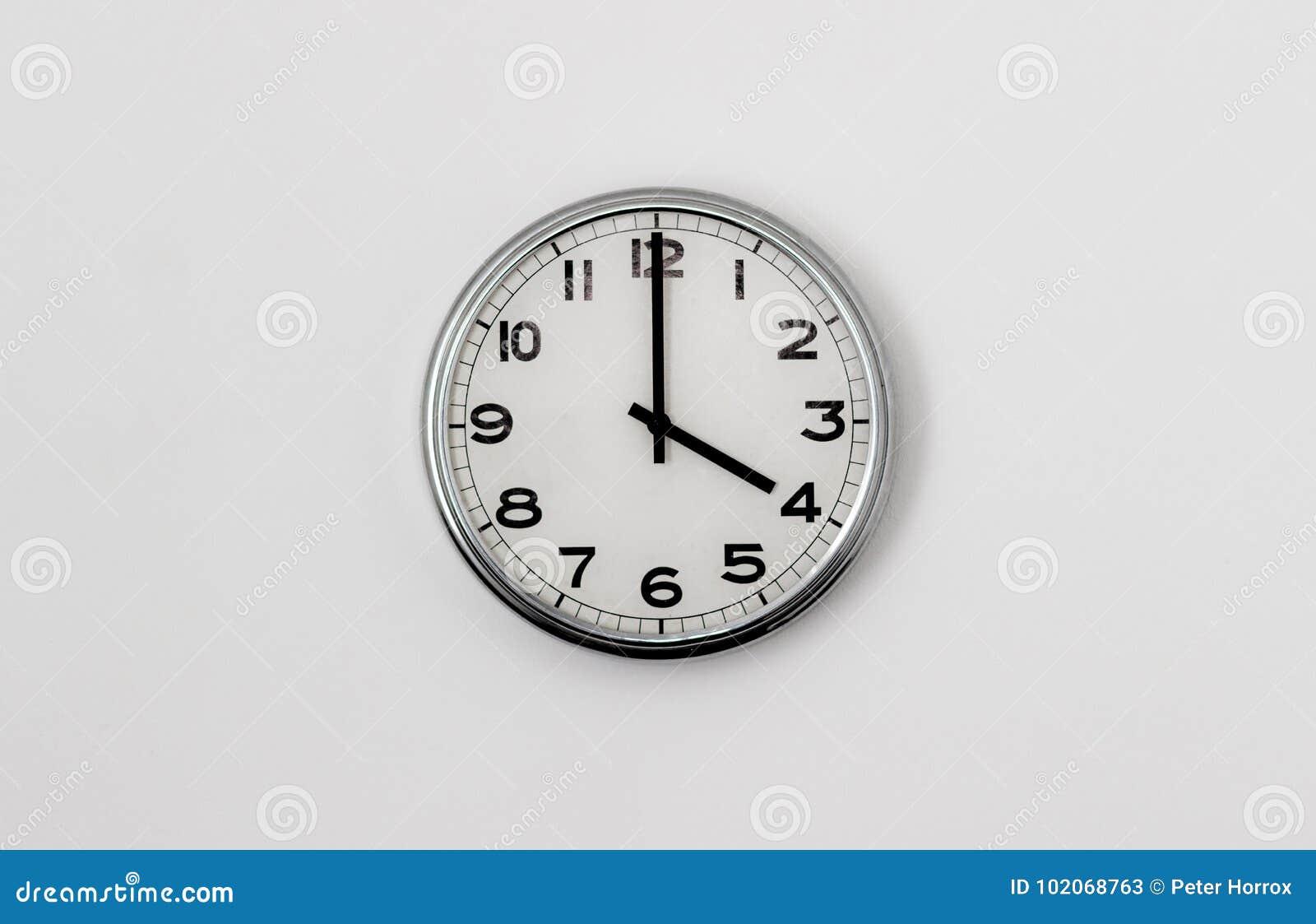 4:00 del reloj