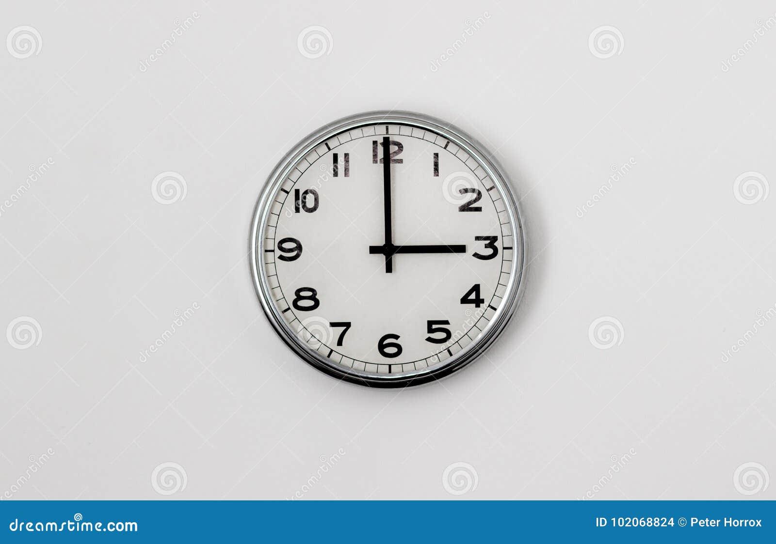 3:00 del reloj