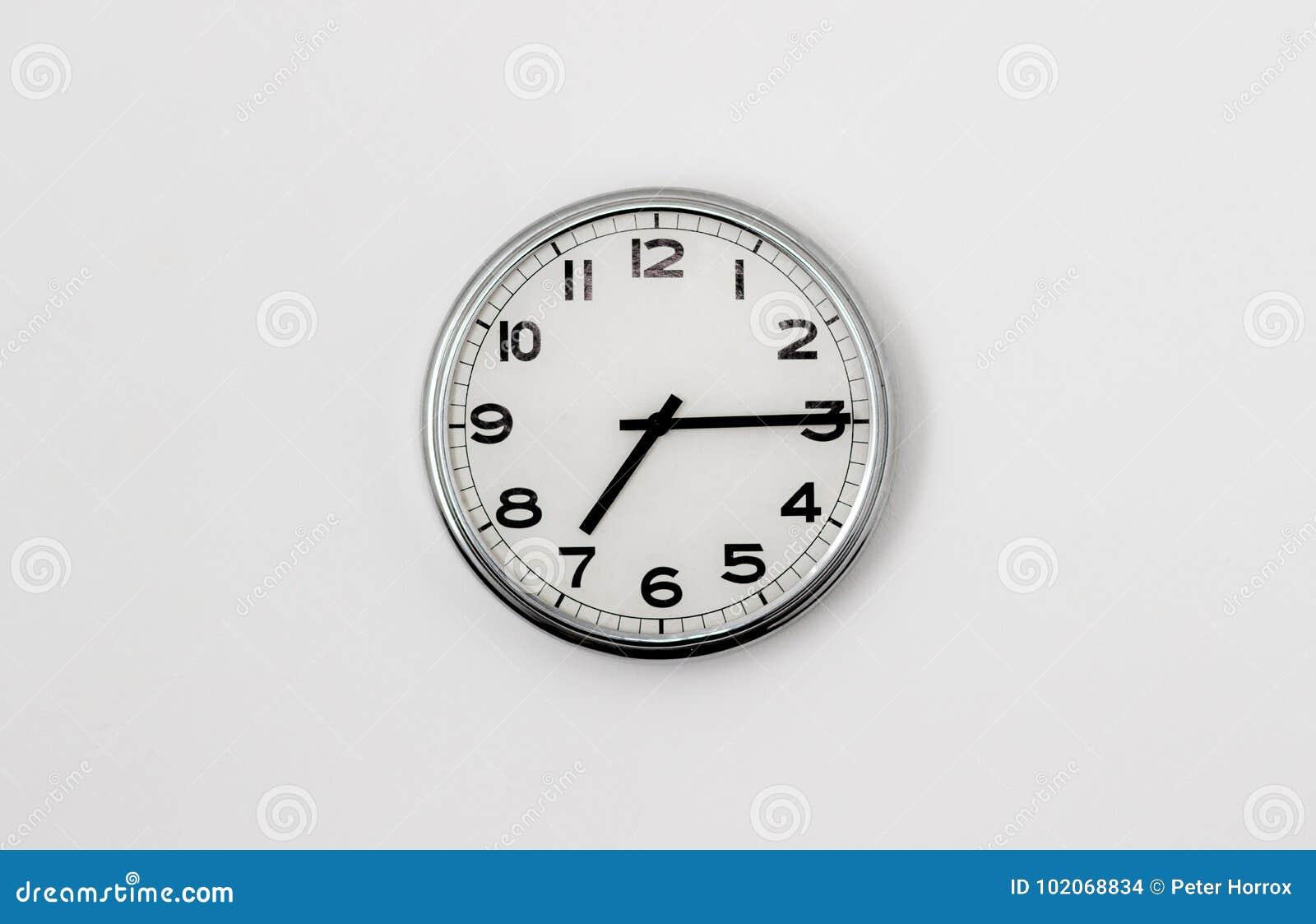 7:15 del reloj