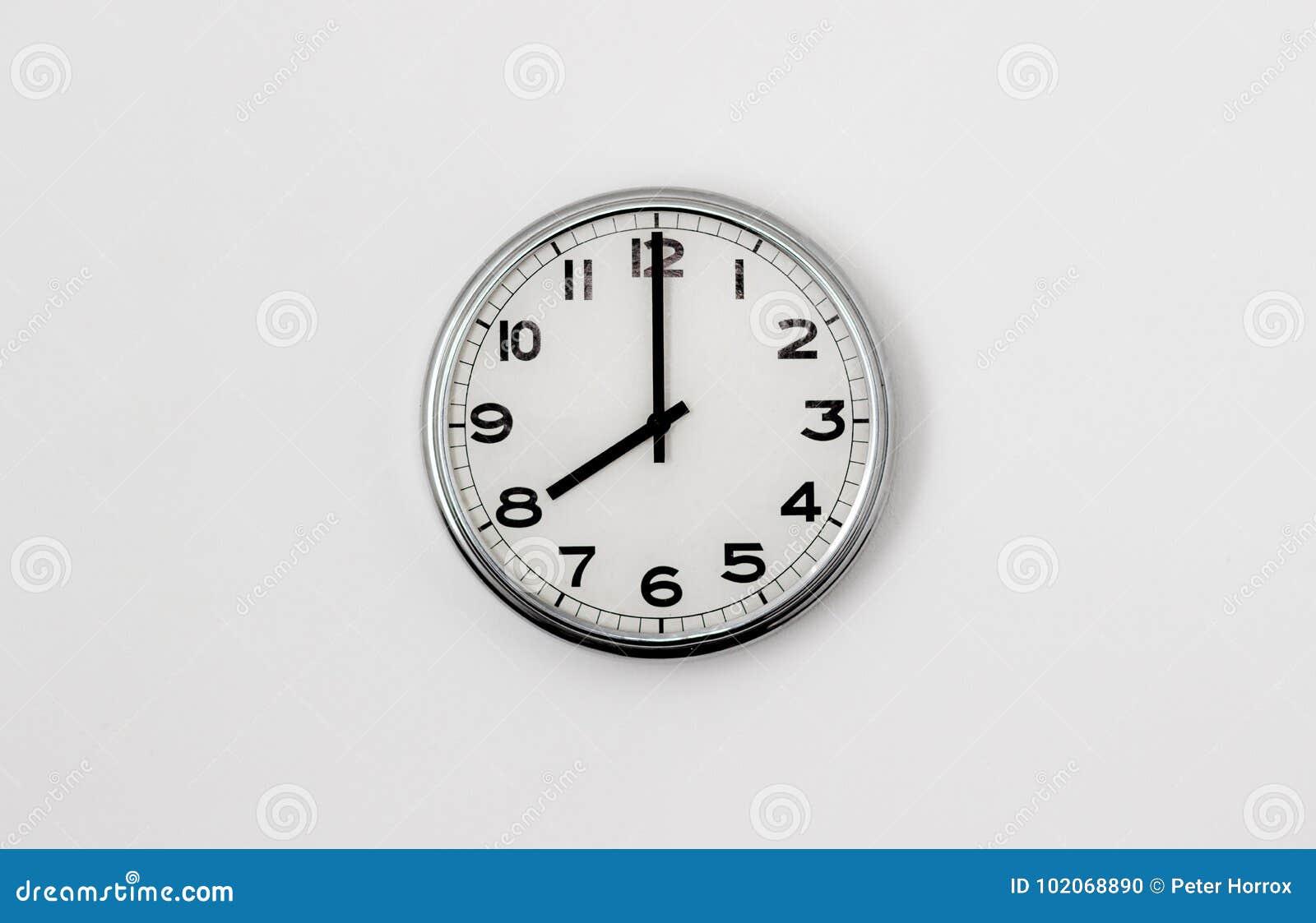 8:00 del reloj