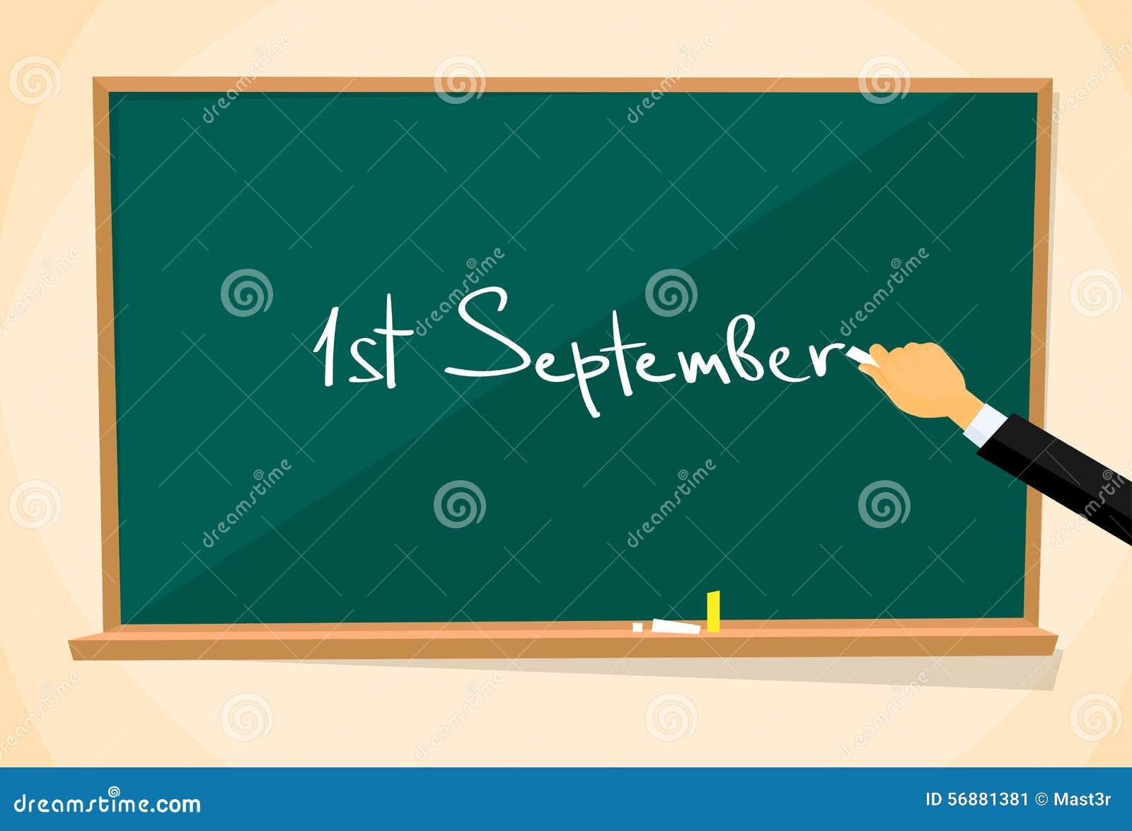 Del 1 tiraggio della mano di istruzione del consiglio scolastico settembre