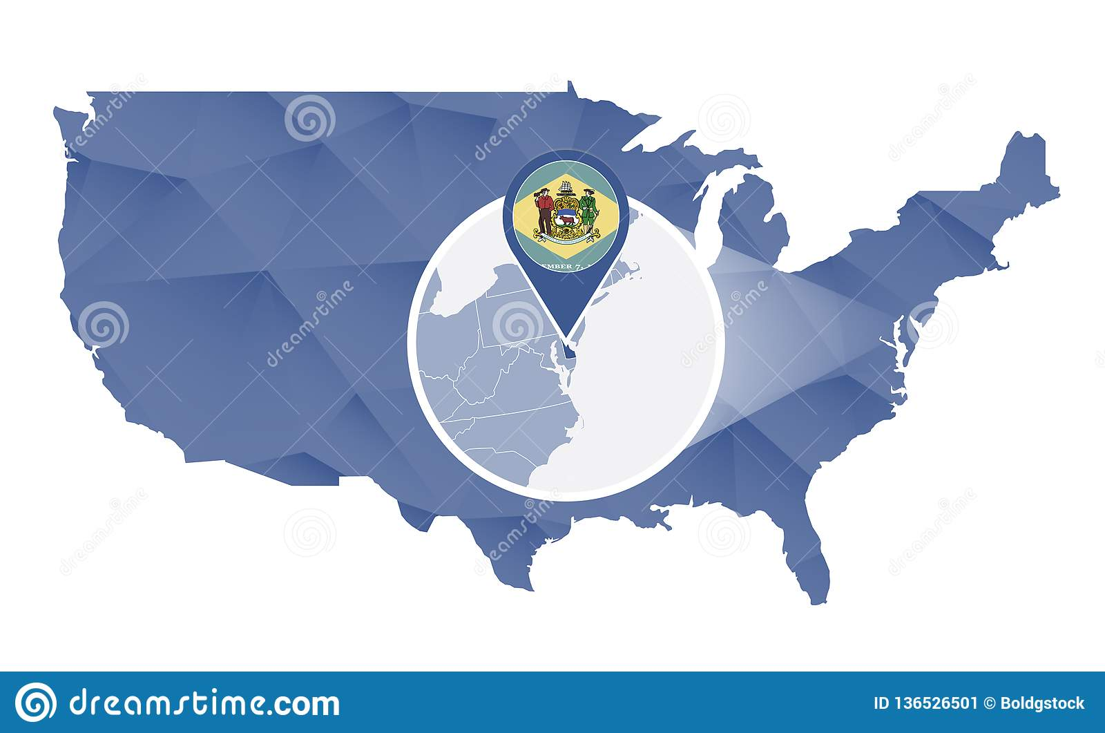 Delaware State Magnified On United States Map Stock Vector ... on delaware by counties, delaware on map, delaware agricultural map, delaware golf courses map, delaware map cities, delaware demographics, state of delaware usa, delaware ny, delaware product map, attractions in philadelphia pa usa, delaware river, delaware time, delaware real estate, delaware guide, delaware map by zip code, delaware colonial history, delaware flag, delaware mine michigan, delaware shore map,