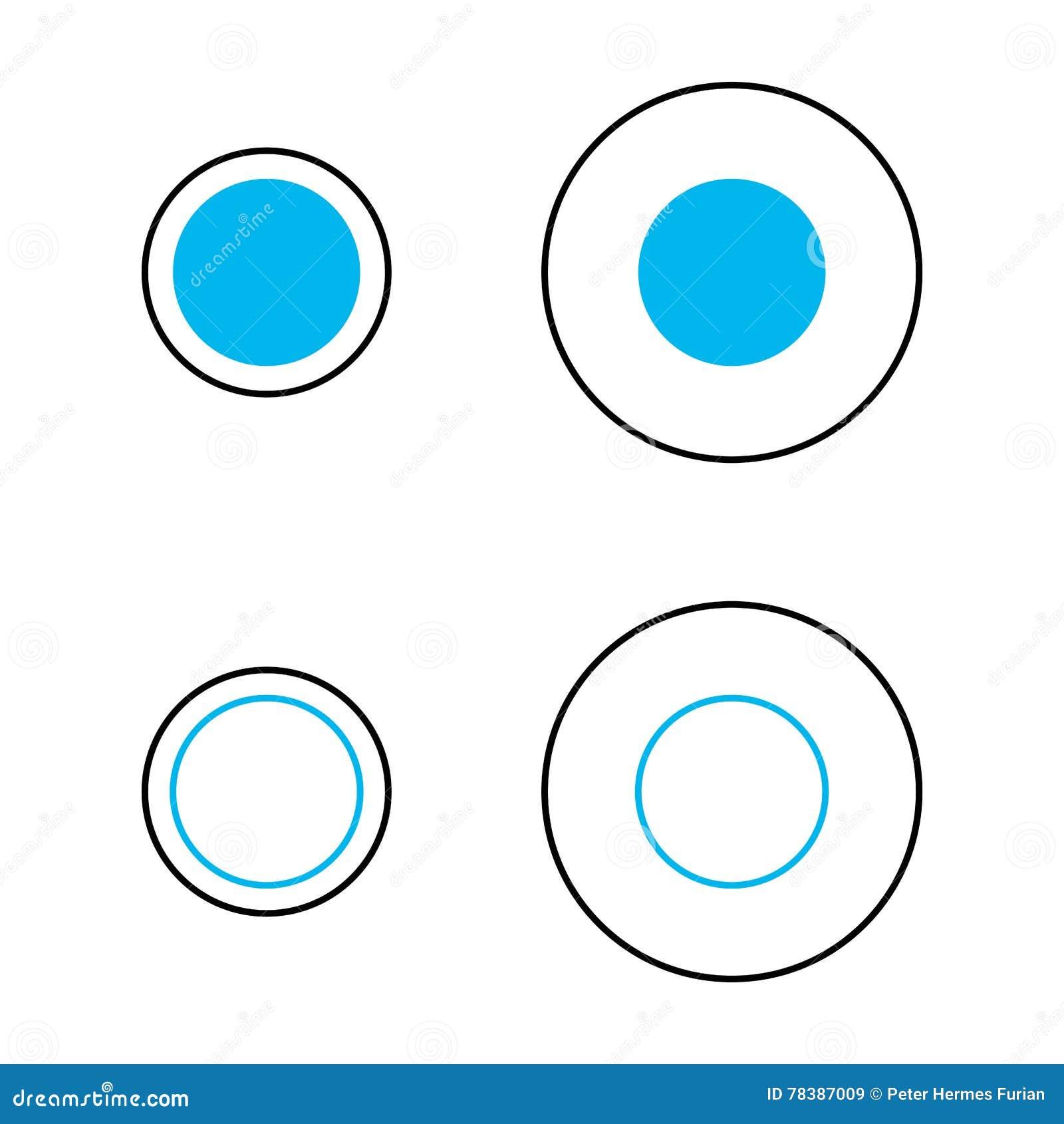 Delboeuf Optical Illusion Of Relative Size Perception ...  Delboeuf Optica...