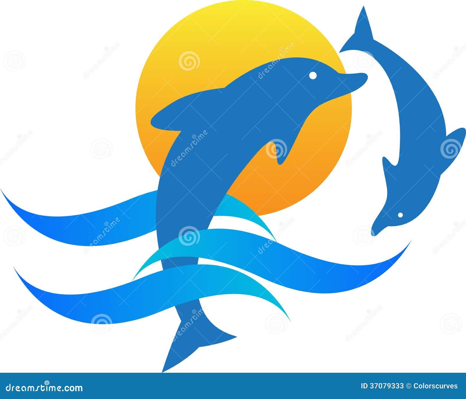 Download Delfiny ilustracja wektor. Ilustracja złożonej z inteligencja - 37079333