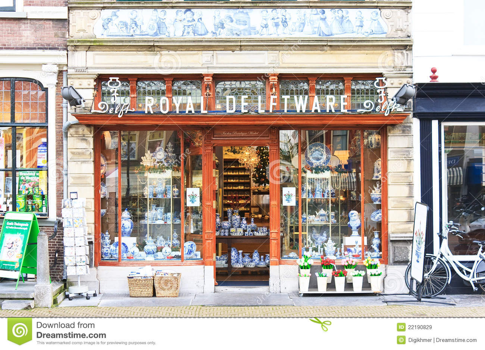 Delft Royal Delftware Editorial Stock Image Image 22190829