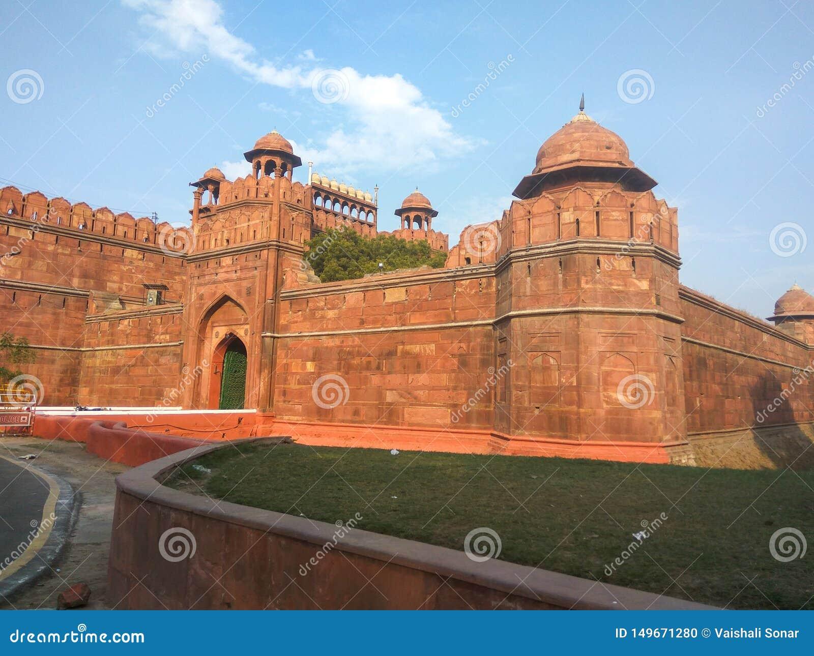 Delhi fortu czerwoni ind