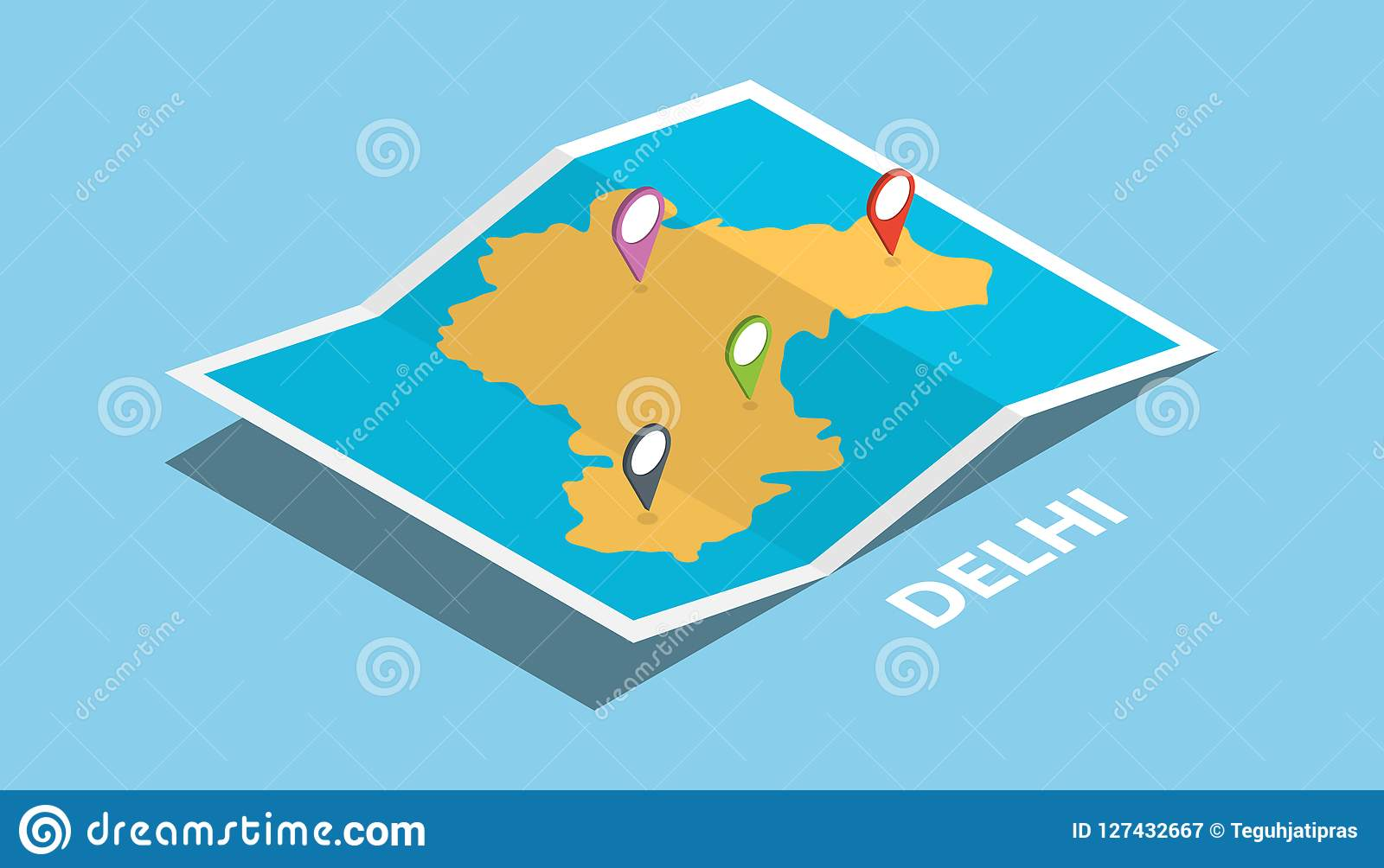 Delhi India Explore Maps Location With Folded Map And Pin ... on moscow map, delhi airport map, islamabad map, shanghai map, lisbon map, hindu kush map, barcelona spain map, kolkata map, kashmir map, delhi india poster, manila map, beijing china map, istanbul turkey map, kathmandu nepal map, mexico city map, karachi map, lahore pakistan map, calcutta map, dhaka bangladesh map, guangzhou china map,