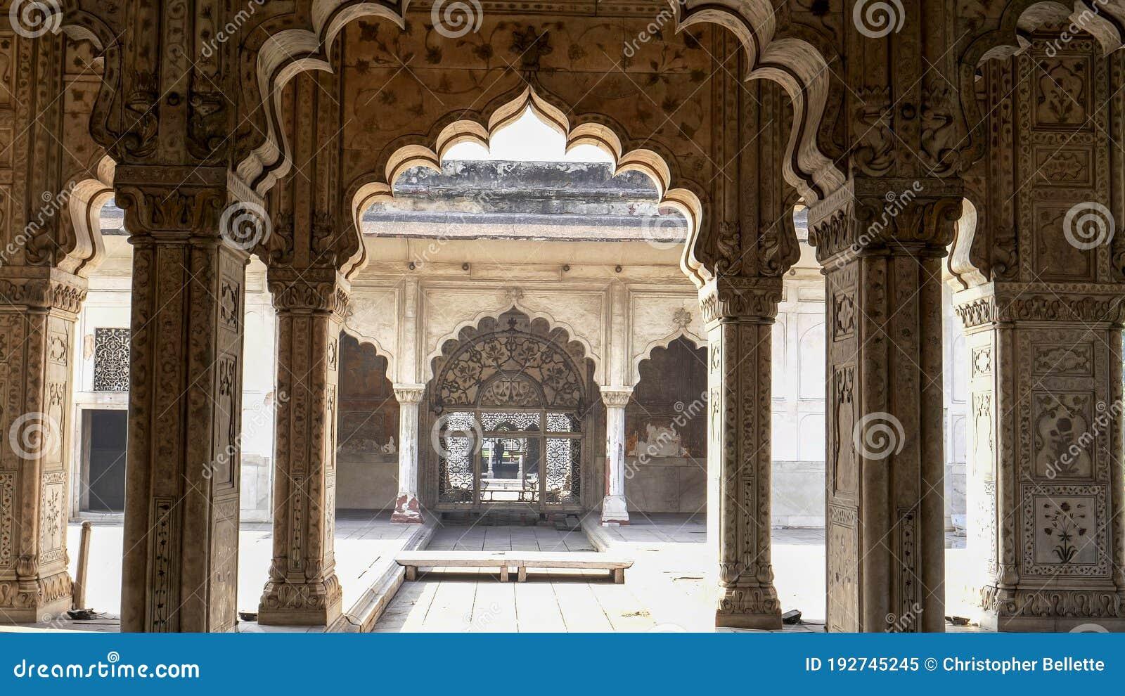 Pixelated Memories: Diwan-i-Am, Red Fort, New Delhi