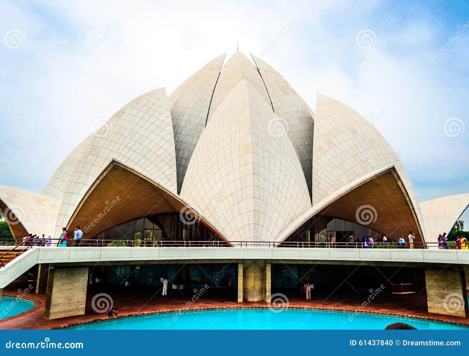 Delhi lotosu świątynia