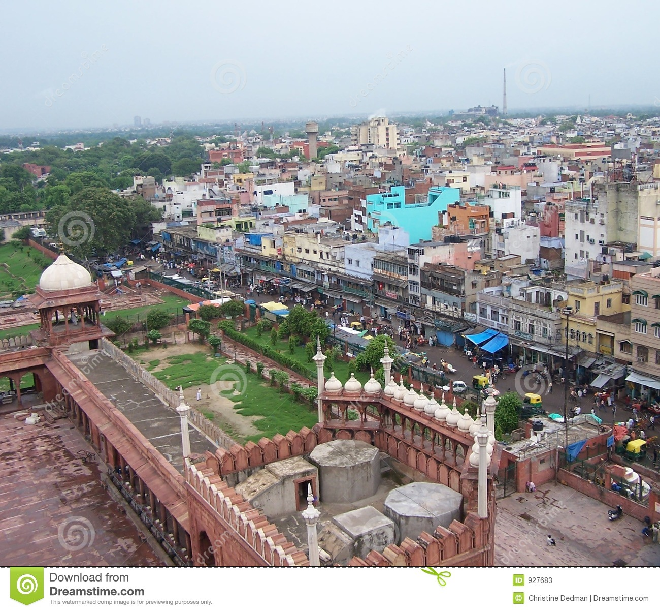 Delhi Skyline Stock Photos - Image: 927683