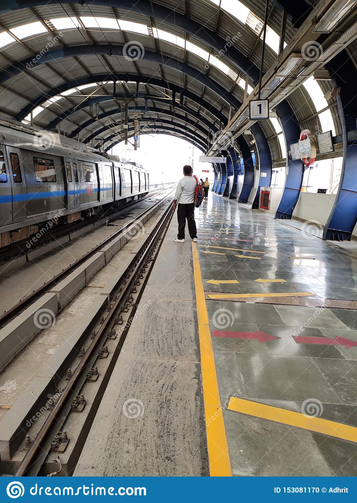 Delhi tunnelbana