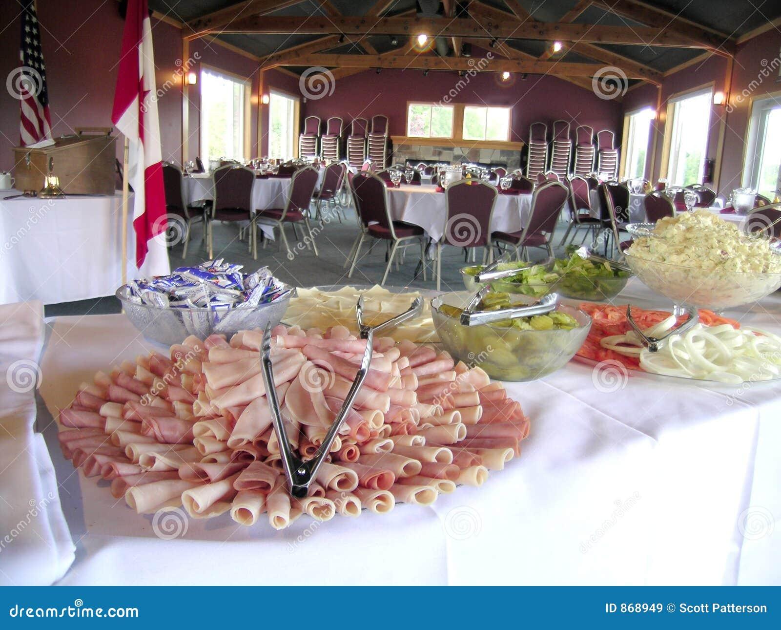 Deli Meat Tray, Banquet Hall