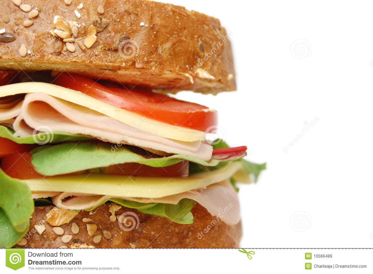Deli Sandwich Royalty Free Stock Images - Image: 10566489