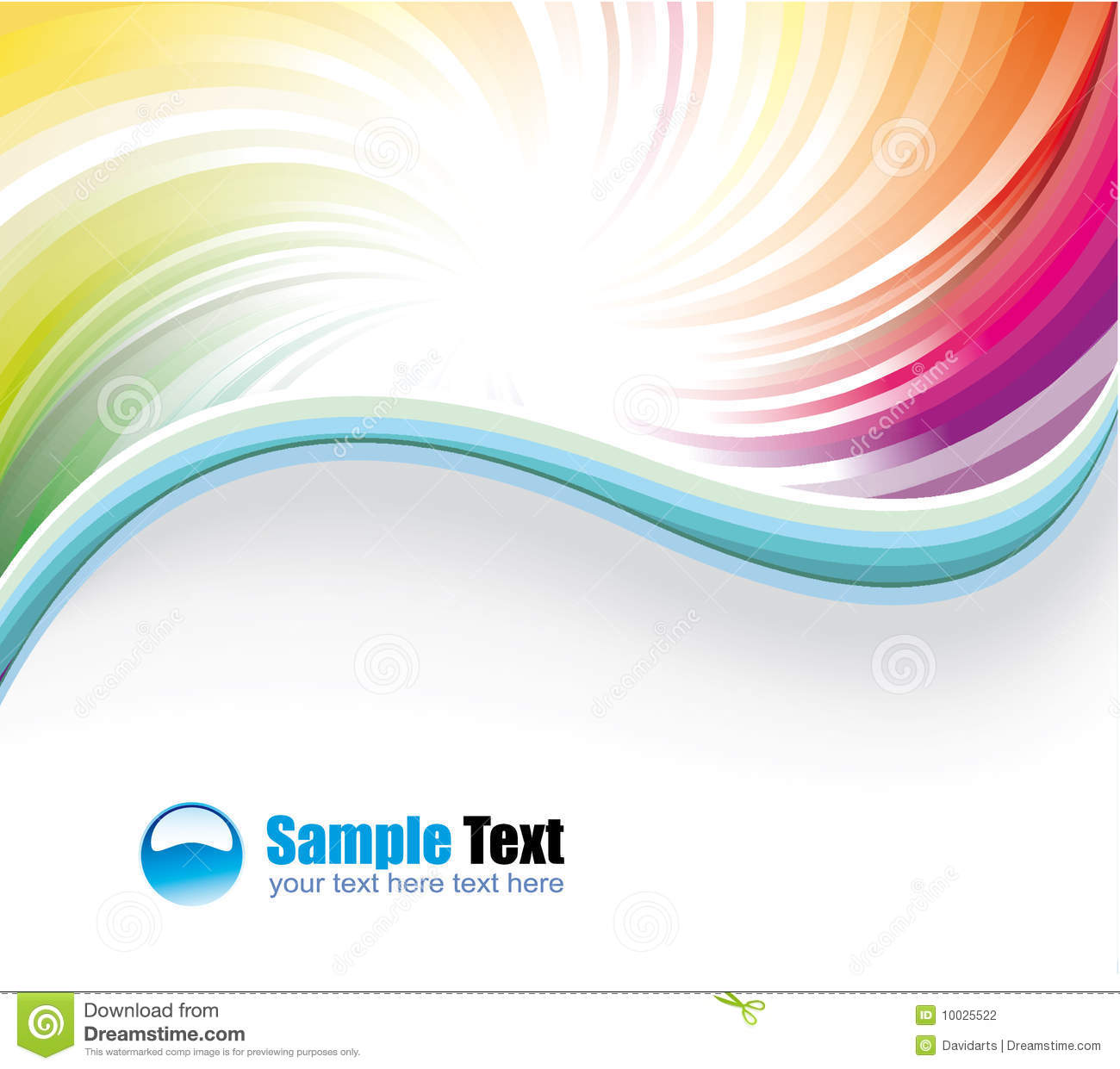 delicate colorful business background stock photography