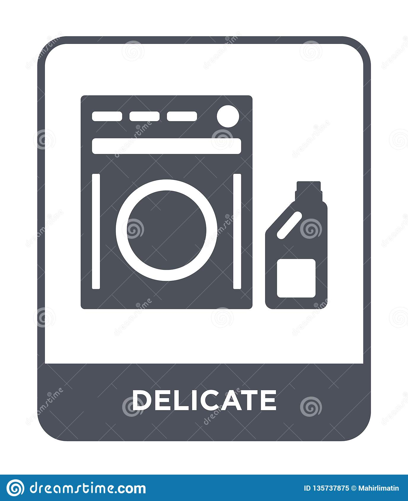 delicate icon in trendy design style. delicate icon isolated on white background. delicate vector icon simple and modern flat