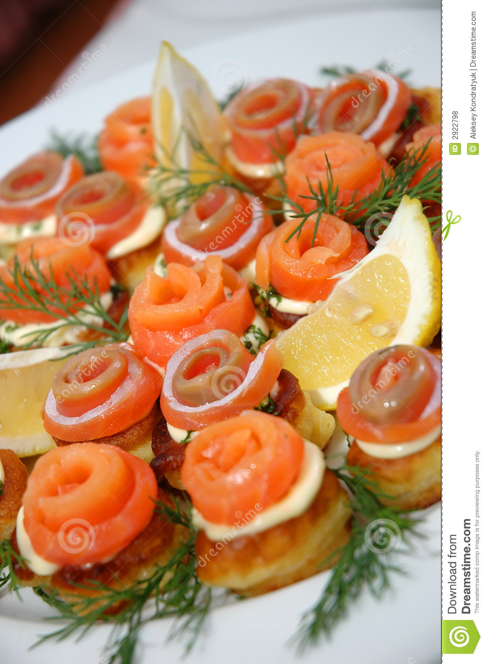 Delicious appetizing food