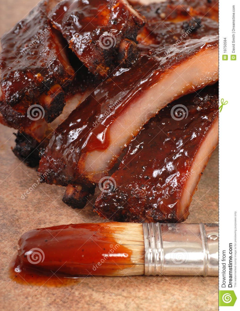 glazed baby back ribs apple and bbq sauce baby back ribs recept yummly ...