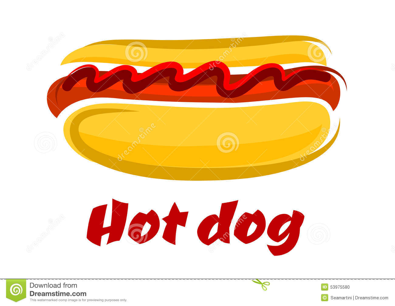 Hot Dog In A Roll