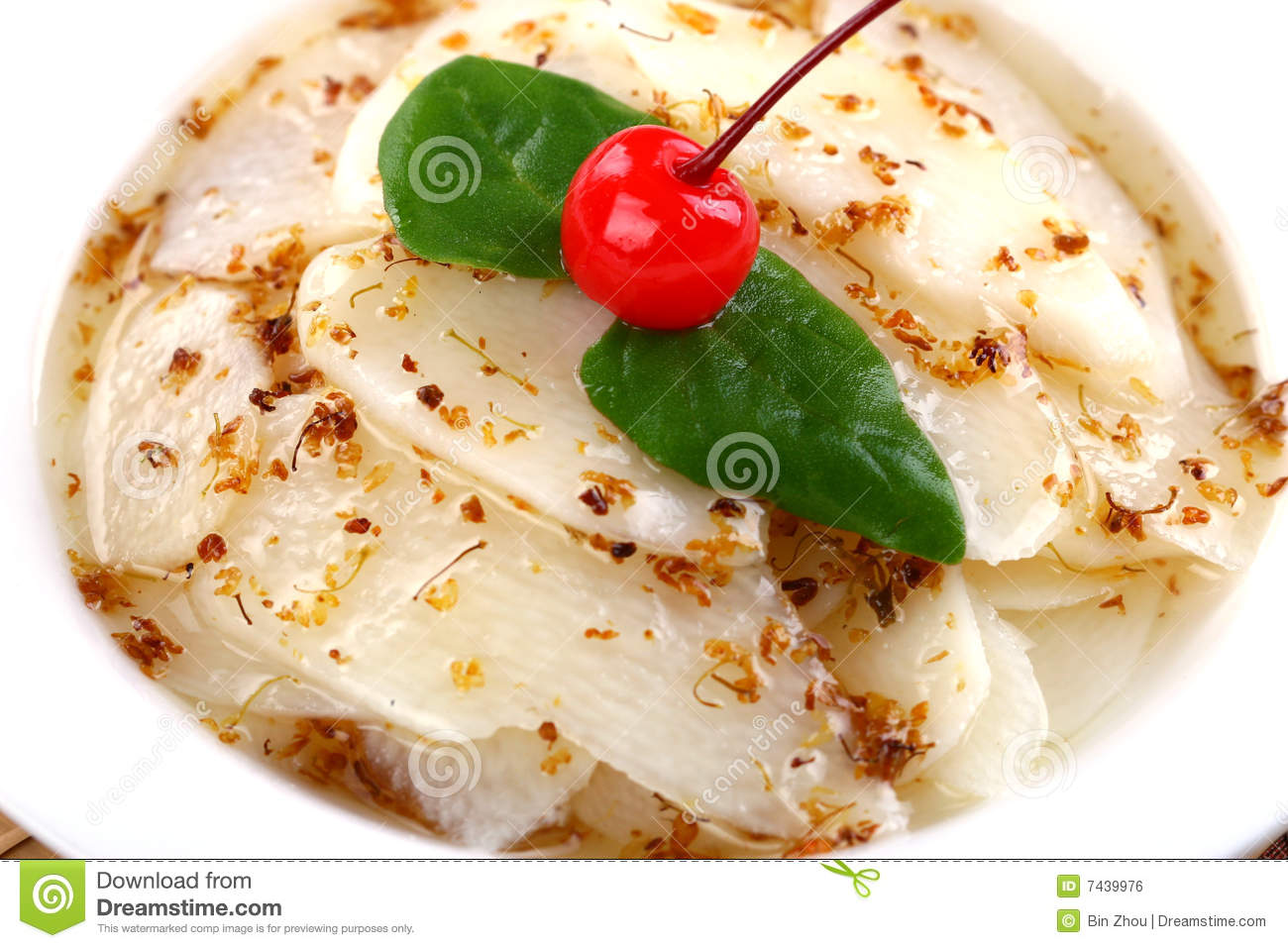 Delicious chinese food cold dish sweet yam stock photo image 7439976 - Delicious chinese cuisine ...