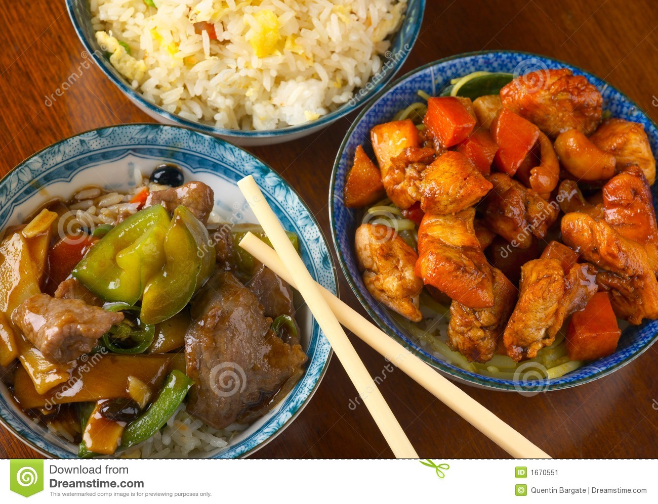 Delicious Chinese meal
