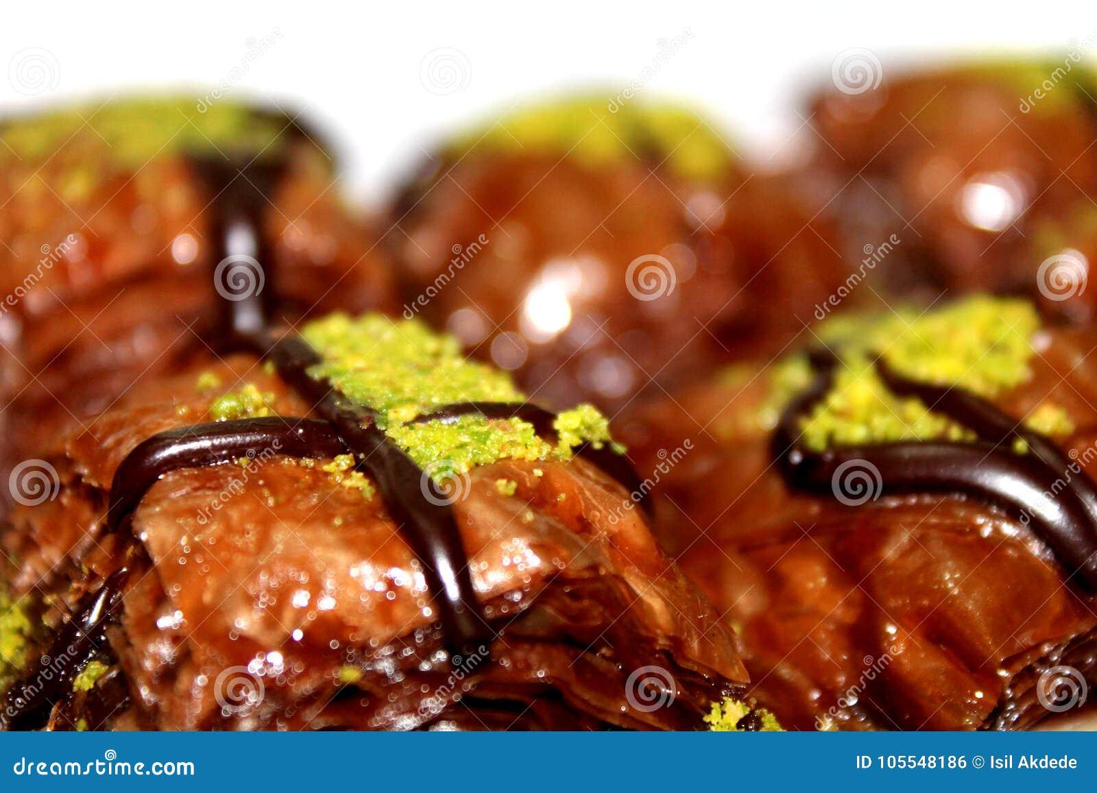 Chocolate Baklava Dessert