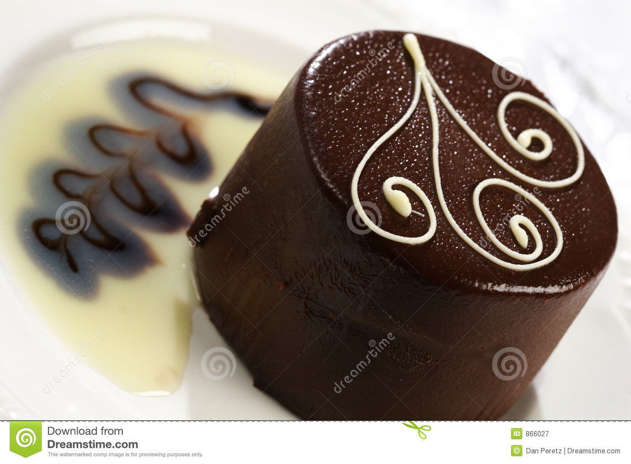 Delicious Chocolate Cake Royalty Free Stock Photography - Image ...