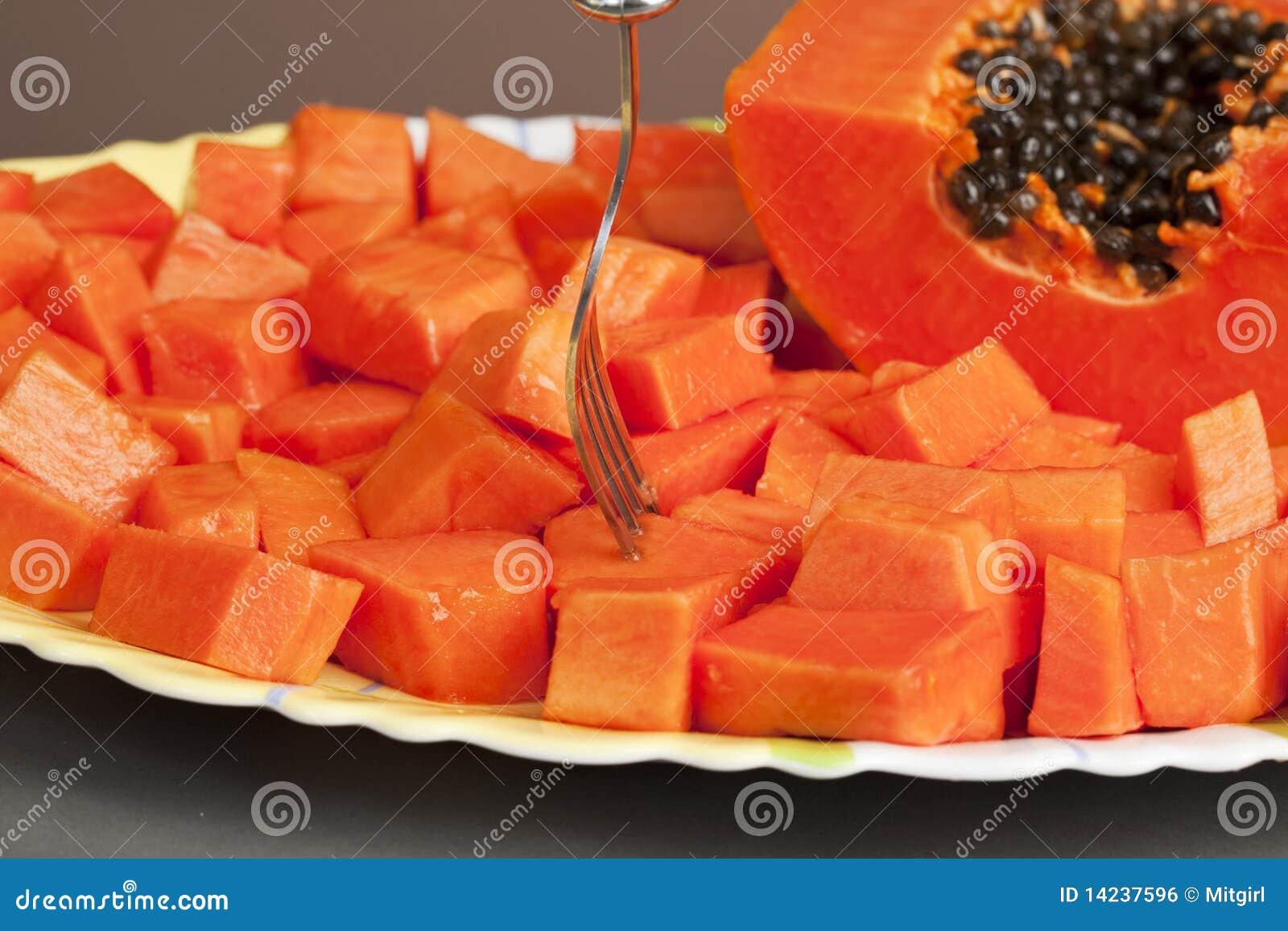papaya fruit fruit press