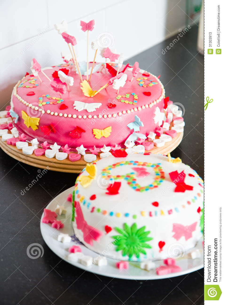 Fruit Cake Decoration Ideas For Birthday Marzipan