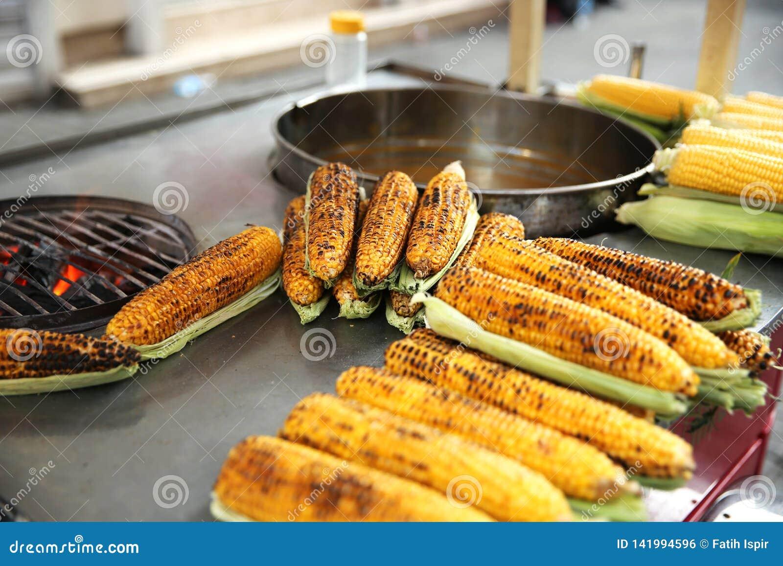 Delicious Corn in Istanbul