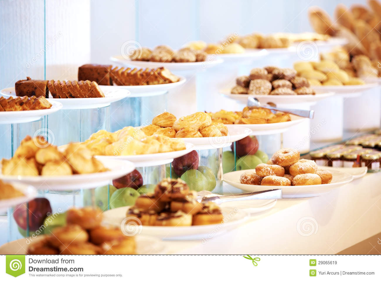 Royalty free stock images delicious dessert on buffet table at restaurant image 29065619 - Buffet table images ...